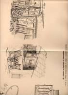 Original Patentschrift - Hängebahn Zur Post - Beförderung , Postamt , Postsack , 1901 ,G. Owen In Springfield , USA !!! - Tools
