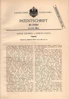 Original Patentschrift - Alfred Chiswell In Dawley Parva , 1901 , Fingerhut !!! - Ditali Da Cucito