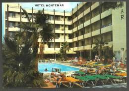 PINEDA DE MAR  -  HOTEL  MONTEMAR - CIRCULADA - Barcelona