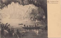 Br36009  Grottes De Han Le Lac D Embaquement    2 Scans - Belgique