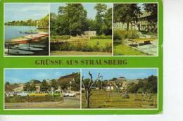 GRÜSSE AUS STRAUSBERG DDR REPUBLICA DEMOCRATICA ALEMANA  CIRCULADA 1987  OHL - Postkaarten