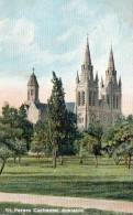 St. Peters Cathedral, Adelaide, South Australia - Posted 1905 - See 2nd Scan - Adelaide