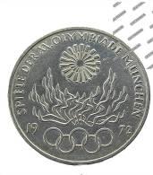 Allemagne - 10 Mark - 1972 G -  J.O. Munchen -  Argent -  TTB+ - [ 6] 1949-1990 : RDA - Rep. Dem. Alemana