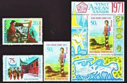 Indonésie 610 / 12 + Bf 16 Tourisme En Asie - Indonesia