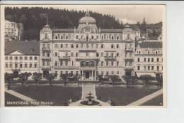 BÖHMEN & MÄHREN, MARIENBAD - MARIANSKE LAZNE - Hotel Weimar - Sudeten