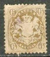Collection BAVIERE ; BAVARIA ; 1870-73 ; Y&T N° 25 II ; Oblitéré - Bavière