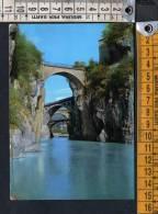 D365 Val Brembana ( Bergamo ) - Ponti Di Sedrina - Ed. Carminati - Bridges,ponts, Bruggen / Viaggiata - Altre Città