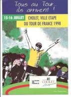49 CHOLET Ville Étape Tour De France 1998 - Cholet
