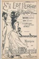 Si Les Femmes Savaient... - Savoisy-Héros, Gaston Maquis - Partitions Musicales Anciennes