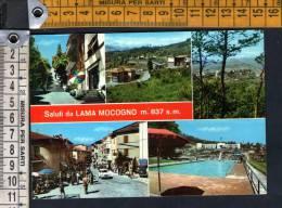 D367 Saluti Da Lama Mocogno ( Modena ) -  Gruss Aus.. Greetings From  / Viaggiata - Other Cities