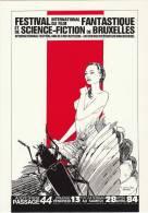 SCHUITEN-RENARD. RARE Carte Postale Pour Le 2e Festival Internat. Du Film Fantastique Et De La S-F. Bruxelles 1984 - Cartes Postales