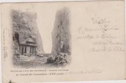 1 CPA CIRCULEE DOS SIMPLE ENVIRONS D AIX EN PROVENCE LE COUVENT DES CAMALDULES - Autres Communes