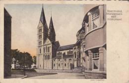 ROERMOND Munsterkerk Met Monument 1935 - Roermond