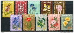 Romania 1959 Mi#1814-23 Flowers, Used