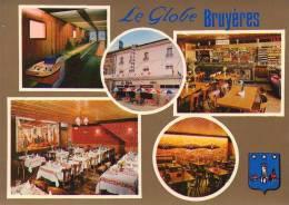 BRUYERES -  LE GLOBE Hotel Restaurant Bowling - Multivues - Blason - Bruyeres