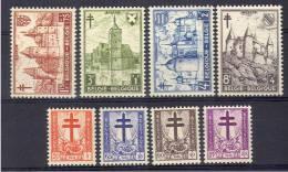Belgique 868/75 ** - Unused Stamps
