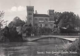 TREVISO 1957 PONTE GARIBALDI CASTELLO ROMANO - Treviso