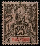 Martinique (1892) N 38 (o)