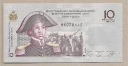 Haiti - Banconota Non Circolata Da 10 Gourdes - 2004 - Haiti