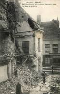 N°24 N GUERRE 1914-15 BOMBARDEMENT DE BERGUES MAI JUIN 1915 LA RUE DE LA GARE - Bergues