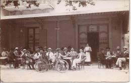 4911 - France Jolie Terrasse De Café Et Vélo - Postcards