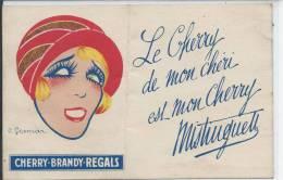 PUBLICITE - CHERRY BRANDY REGALS - Werbepostkarten