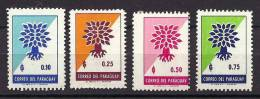 Paraguay, Year 1961, SG 971-974, World Refugee Year, MNH ** - Paraguay