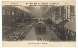 CHARLEROI - Monceau-Sur-Sambre Sté Anonyme Des Ateliers Germain - Un Coin Du Hall De Montage - Charleroi