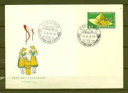 HELVETIA, 15/02/1955 Sa Plage Son Climat - CORSEAUX  (GA3284) - Vins & Alcools