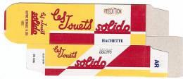 SOLIDO - BOITE VIDE  - ALPINE RENAULT A310 - 1972 - Autres Collections