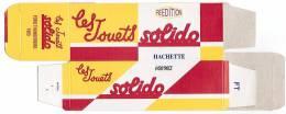 SOLIDO - BOITE VIDE  - FORD THUNDERBIRD 1963 - - Autres Collections