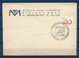 POLSKA, 22/11/1968 Muzeum Ziemi Lubuskiej  -  ZIELONA GORA  (GA3563) - Wines & Alcohols