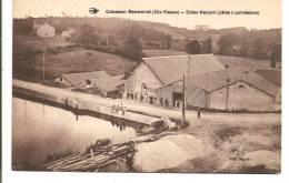 87 - COUSSAC-BONNEVAL  -  Usine Marquet (pâte à Porcelaine) - Les Ouvriers Ont Posé - France