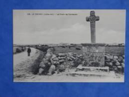 CPA-44-LE CROISIC-La Croix De Kervaudu - Le Croisic