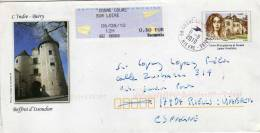 Carta Entero Postal Cosne Cours Sur Loire, 2010,George Sand , Francia - Enteros Postales