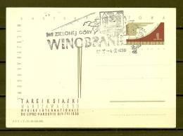POLSKA , 04/10/1959 Dni Zielonej Gory - WINOBRANIE  (GA3711) - Vini E Alcolici