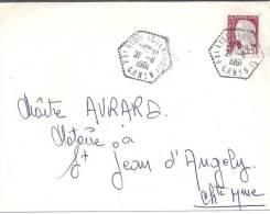 CALVADOS - Cachet FALAISE  C.P. N° 8 - Marcophilie (Lettres)
