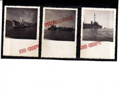 Navire Guerre Marine Nationale Le Sénégalais F 702 Sous-marin Contre La Coque Baignade Des Marins - War, Military
