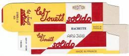 SOLIDO - BOITE VIDE  - CITROEN 2CV 1979 - Autres Collections