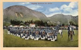 Bogota Maniobras Del Ejercito 1905 Columbia Old Postcard - Colombia