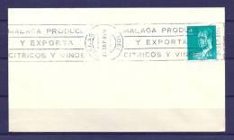 SPANJE, 23/09/1981 Malaga Produce Y Exporta Citricos Vinos   (GA3795) - Wijn & Sterke Drank