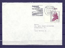 DEUTSCHE BUNDESPOST,  01/01/1986 Ian Tal Der Loreley - BOPPARD  (GA3862) - Vins & Alcools