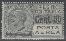 ITALIA 1927 - Effigie 50 Su 60 C. ** - 2 Scan   (g3575) - 1900-44 Vittorio Emanuele III