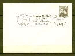 REPUBLIK ÖSTERREICH , 14/08/1967  Weinviertel Ausstellung - HOLLABRUNNER  (GA4311) - Wines & Alcohols