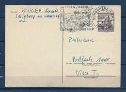 REPUBLIK ÖSTERREICH , 12/04/1965  Postkarte Trink - SCHÖNBERG  (GA4314) - Wines & Alcohols