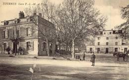 TOURNUS Gare P. L. M. Et Place - Autres Communes