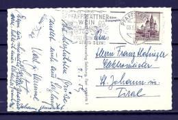 REPUBLIK ÖSTERREICH , 05/05/1959  Soll Dein Freund Stets Sein - PFAFFSTATTNER  (GA4325) - Wines & Alcohols