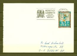 REPUBLIK ÖSTERREICH , 10/04/1979  Weinstadt Tor Zum Steirischen Weinland - LEIBNITZ  (GA4326) - Vins & Alcools