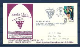 USA , 08/01/1984  Great American Stamp  -  SANTA CLARA  (GA4333) - Wines & Alcohols