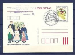 MAGYAR POSTA , 05/12/1987  Tracki Allitas Es Koteszeti - KECEL  (GA4336) - Wines & Alcohols